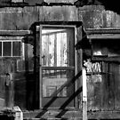Black and White shack Hawaii by GreyCard