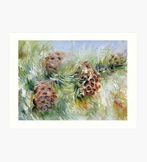 """Snow Cones"" Art Print"