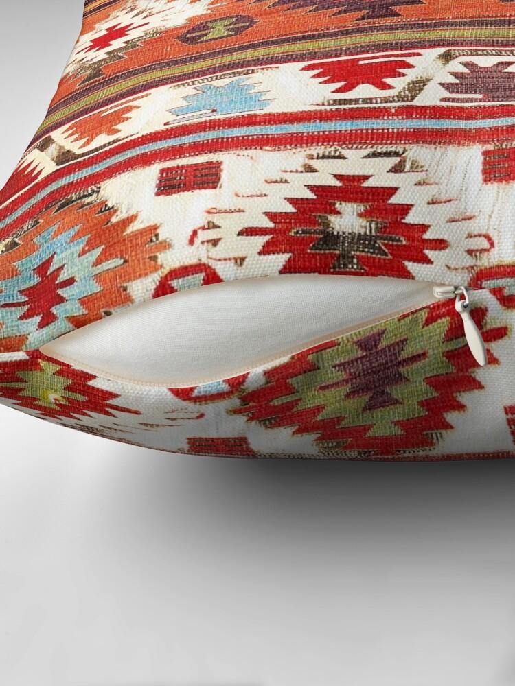 Alternate view of Konya Central Anatolian Kilim Print Floor Pillow