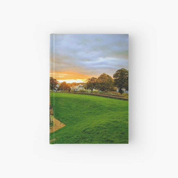Another sunset on the Roman wall Hardcover Journal
