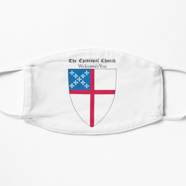 The Episcopal Church Shield with Welcomes You 1 Flat Mask