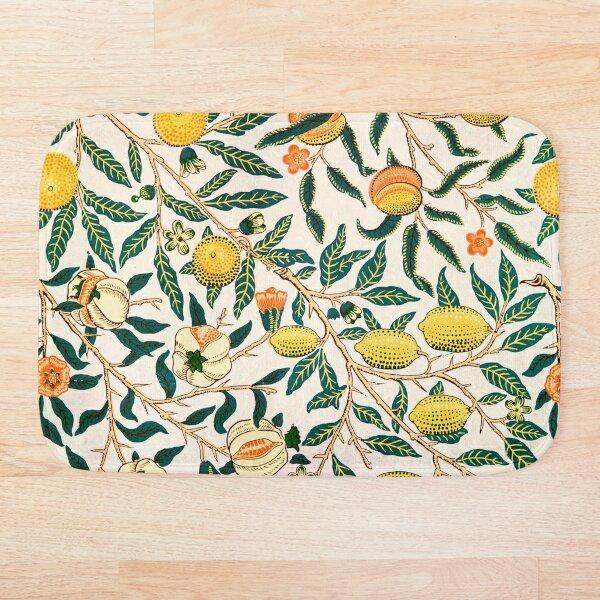 Fruit or Pomegranate - William Morris  Bath Mat