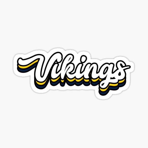 Vikings - Augustana University Sticker