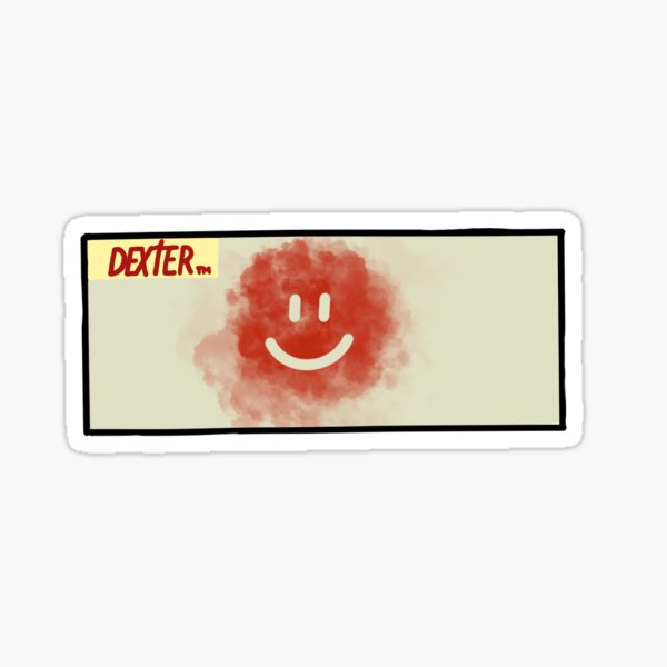 Dexter copyright 2019 Showtime All Rights Reserved Sticker