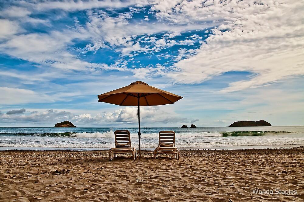 Manuel Antonio Public Beach, Costa Rica by Wanda Staples