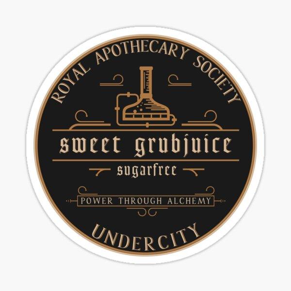 sweet grubjuice Sticker