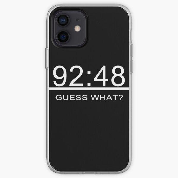 Real Madrid 92:48 Funda blanda para iPhone