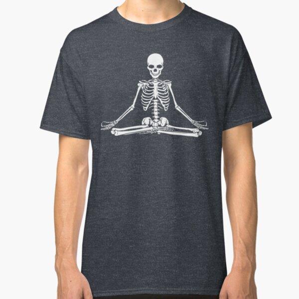 Meditating Skeleton Classic T-Shirt