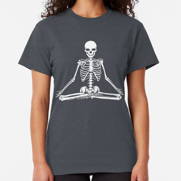 Meditating Skeleton Classic T-Shirt
