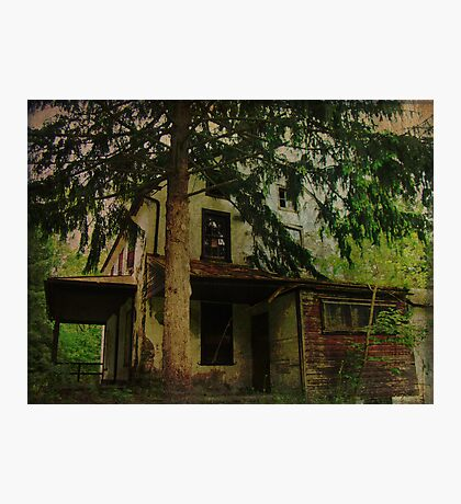 The Old House Where Nobody Lives Photographic Print