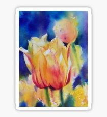 """Tulips"" Sticker"