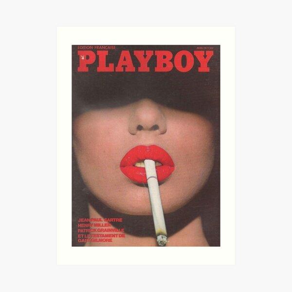 Playboy Vintage Cover April 1977 Art Print