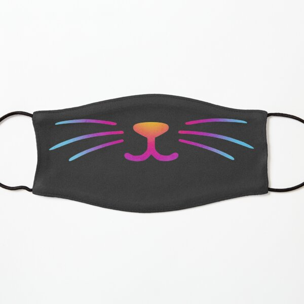 Rainbow Cat Smile Kids Mask
