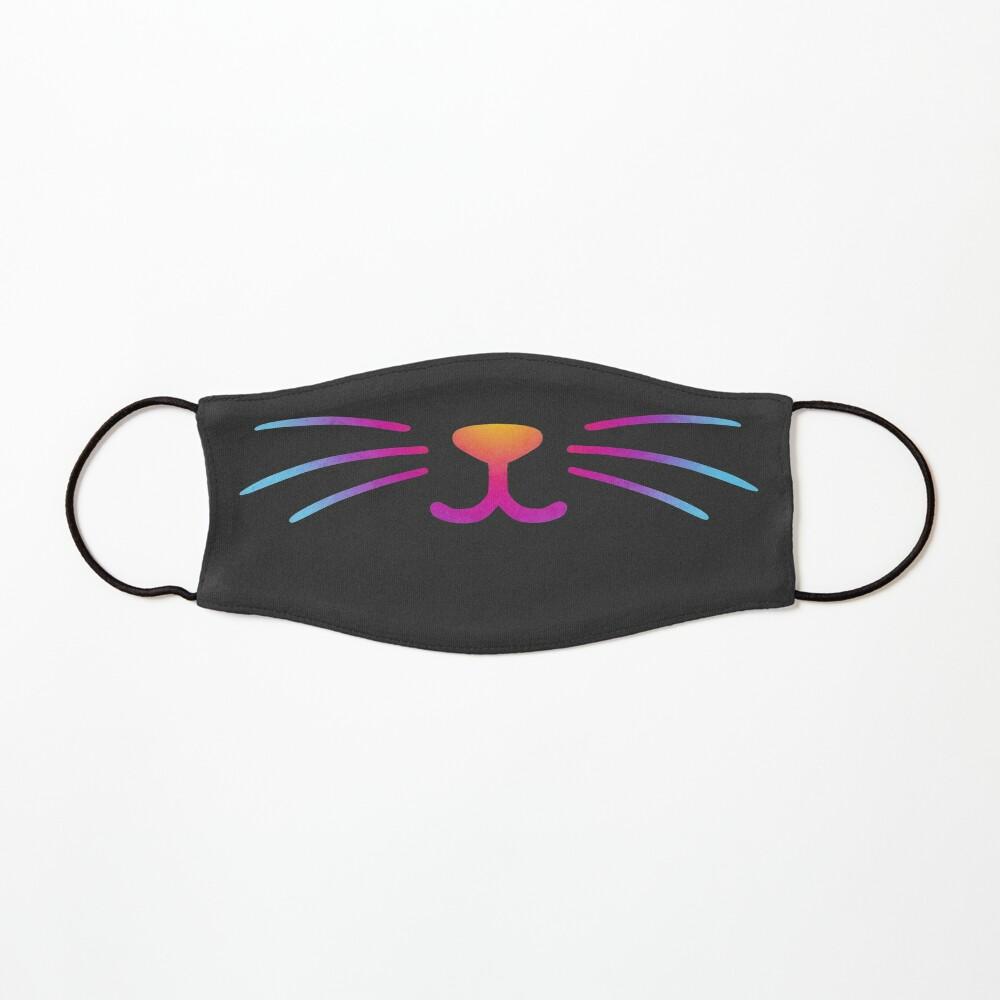 Rainbow Cat Smile Mask