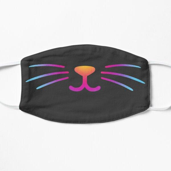 Rainbow Cat Smile Flat Mask
