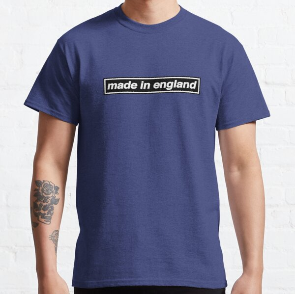 Made In England - OASIS Band Tribute - MADE IN THE 90s Classic T-Shirt