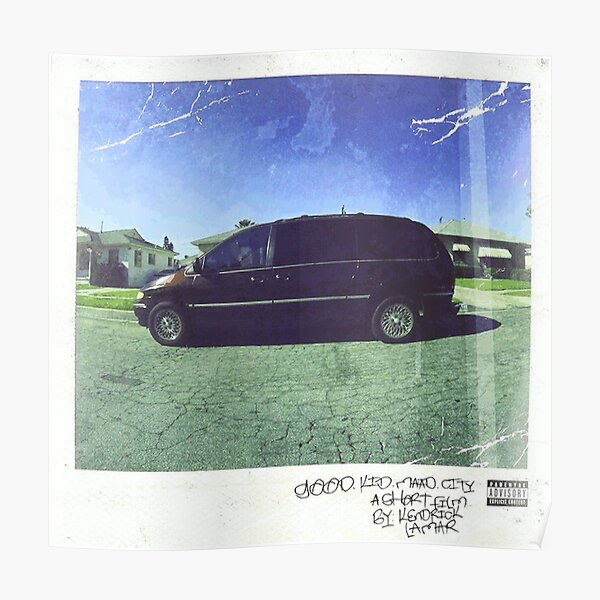 Kendrick Lamar Mahd City Poster