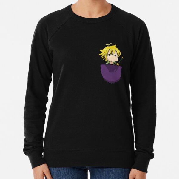 Meliodas Pocket / Seven Deadly Sins (Nanatsu no Taizai/七つの大罪)/T-shirt,Pull... Lightweight Sweatshirt