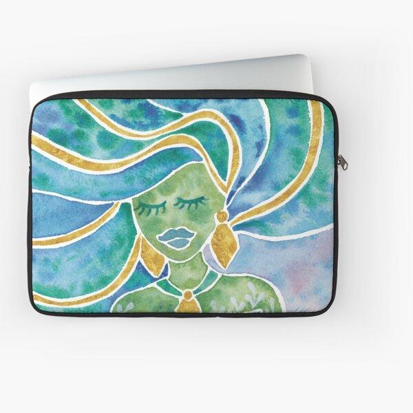 Watercolour Mermaid Laptop Sleeve