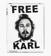 free karl iPad Case/Skin