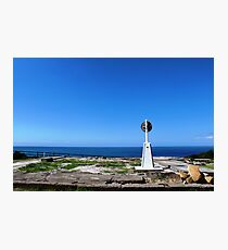 Trig point, Crowdy Head Photographic Print