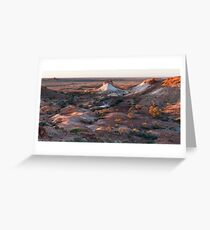 Sunset at The Breakaways. Greeting Card