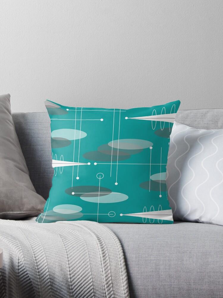 Mid-Century Space Age Ovale von Gail Gabel, LLC