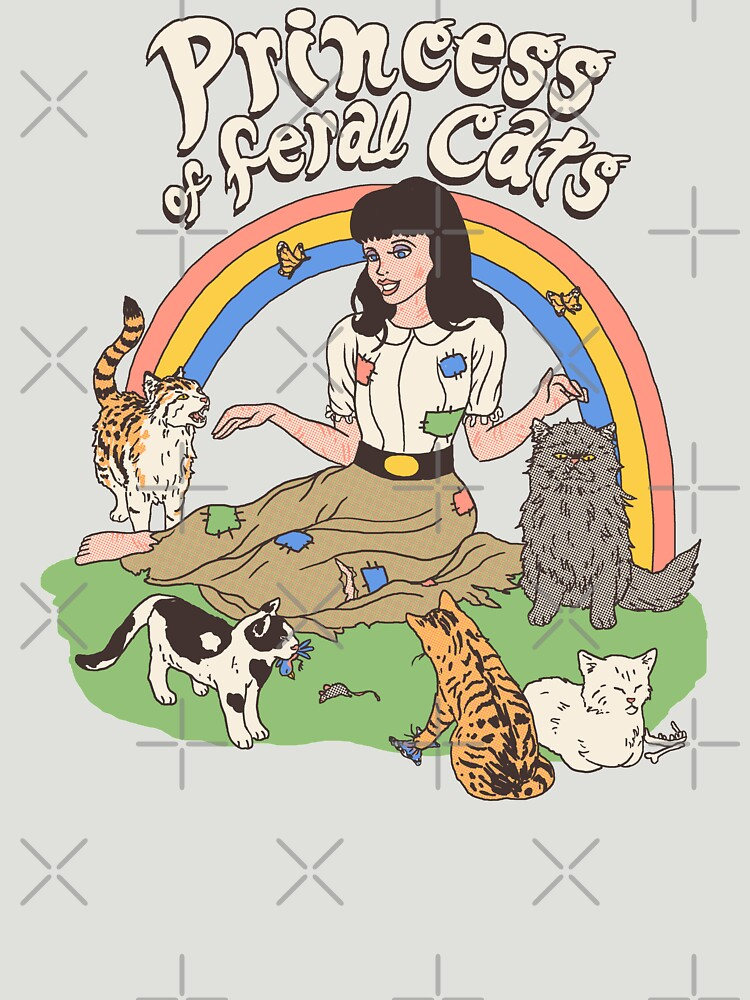 Princess Of Feral Cats by wytrab8