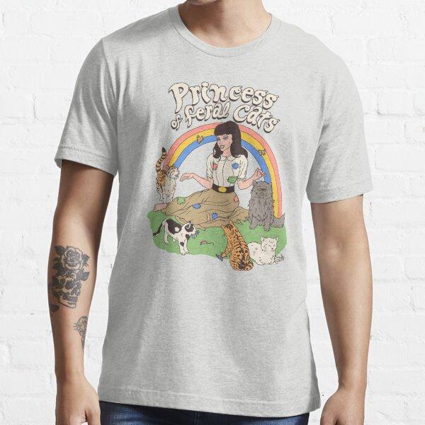 Princess Of Feral Cats Essential T-Shirt
