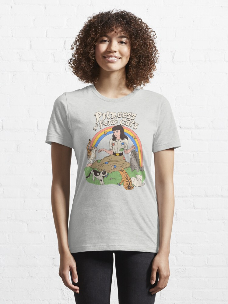 Alternate view of Princess Of Feral Cats Essential T-Shirt