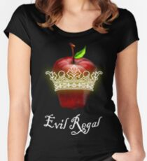 Evil Regal OUAT Tee Women's Fitted Scoop T-Shirt