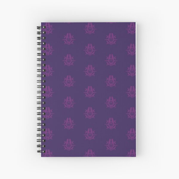 Smugglers Faction (Repeating Pattern) Spiral Notebook