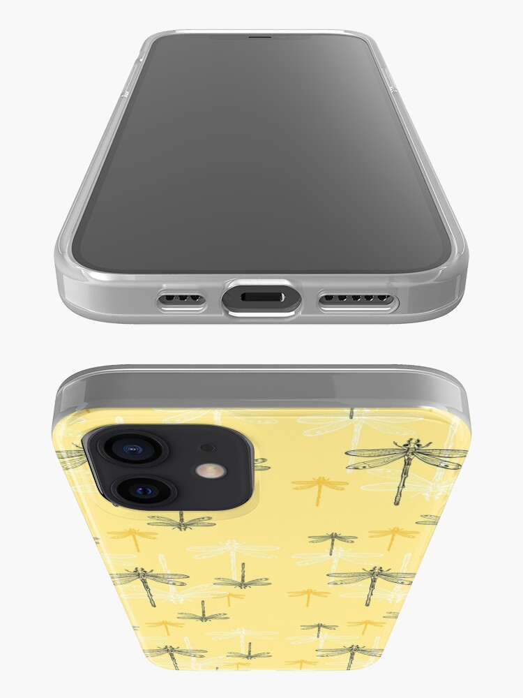 Alternate view of Dragonfly _ yellow theme iPhone Case & Cover