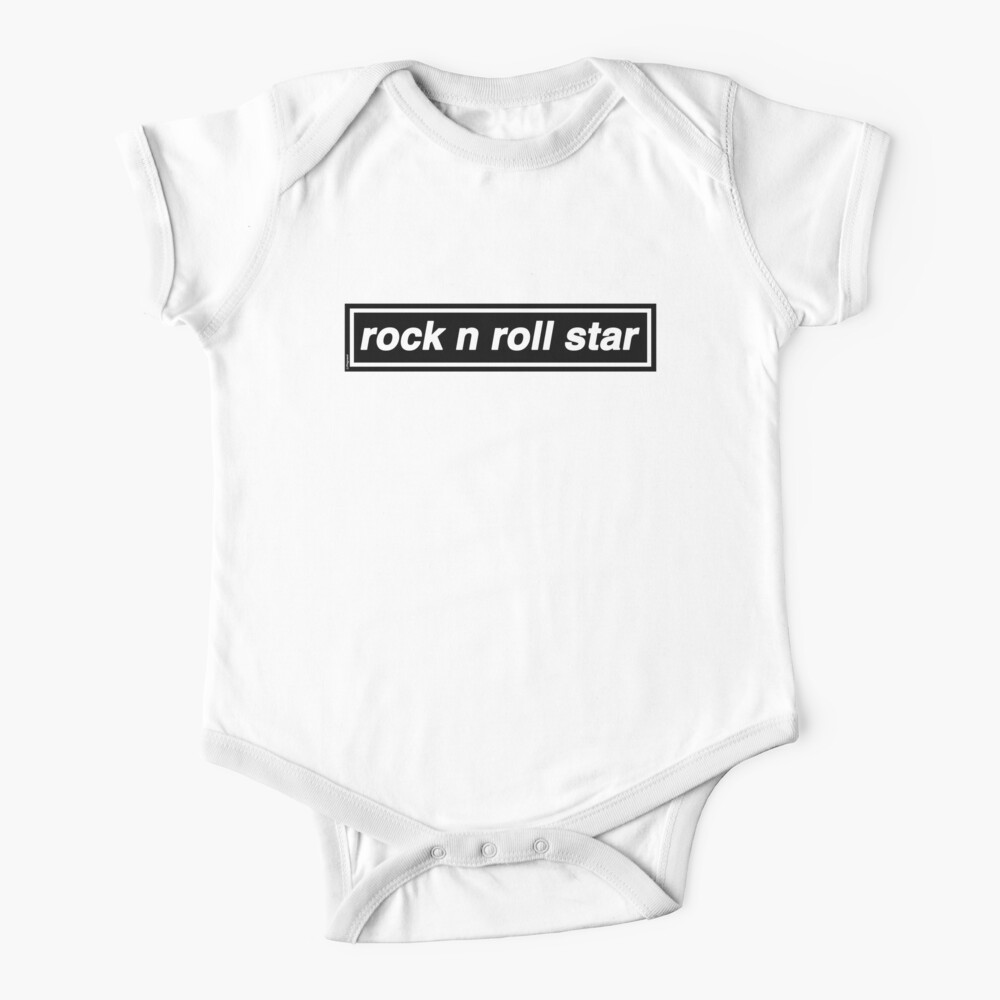 Rock n Roll Star - OASIS Band Tribute - MADE IN THE 90s Baby One-Piece