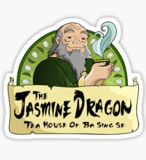 The Jasmine Dragon Tea House Sticker
