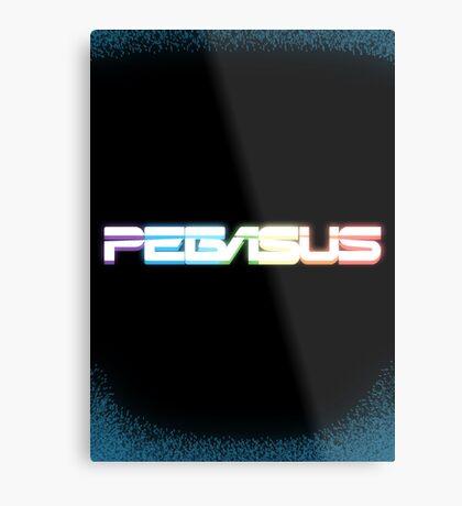 Peg-ASUS Metal Print