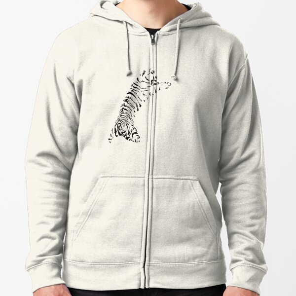 Save the Tigers Zipped Hoodie