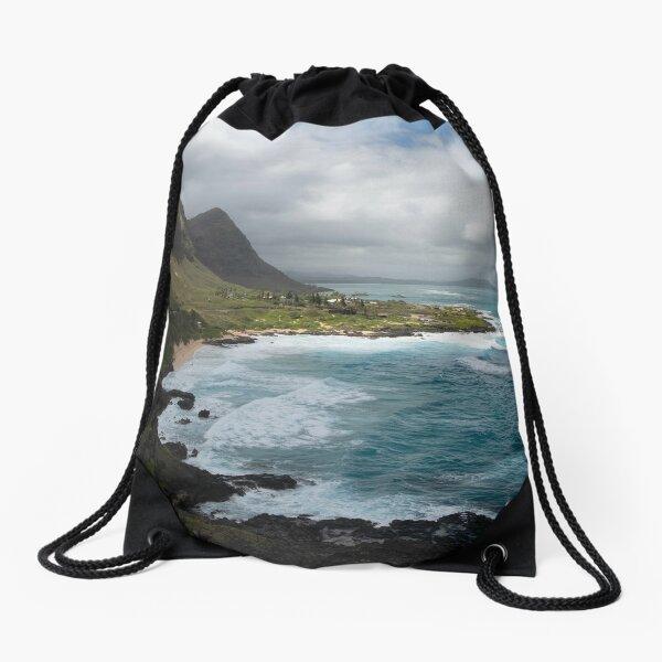 Makapu'u Lookout 1994 Drawstring Bag
