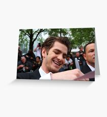 Andrew Garfield Greeting Card