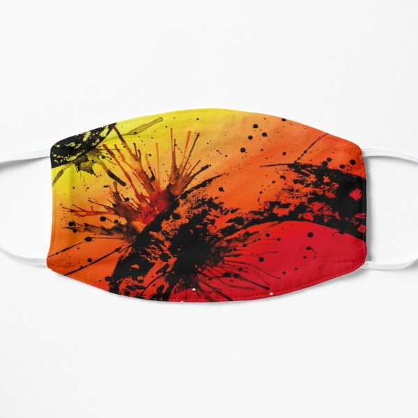 Paint Splash Design 1 Flat Mask