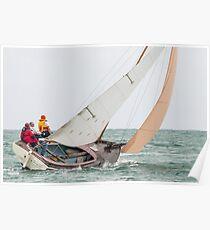 Couta Boat, Queenscliff Poster