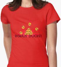 Team Fortress 2 - Bonus Ducks! (Red) Women's Fitted T-Shirt