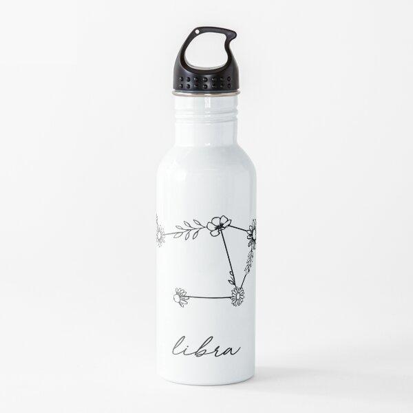 Waage Sternzeichen Wildblumen Sternbild Trinkflasche