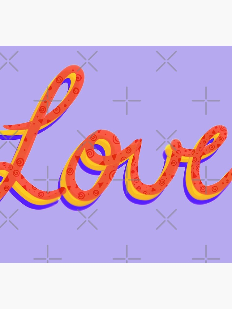 Love lettering calligraphy by didssph