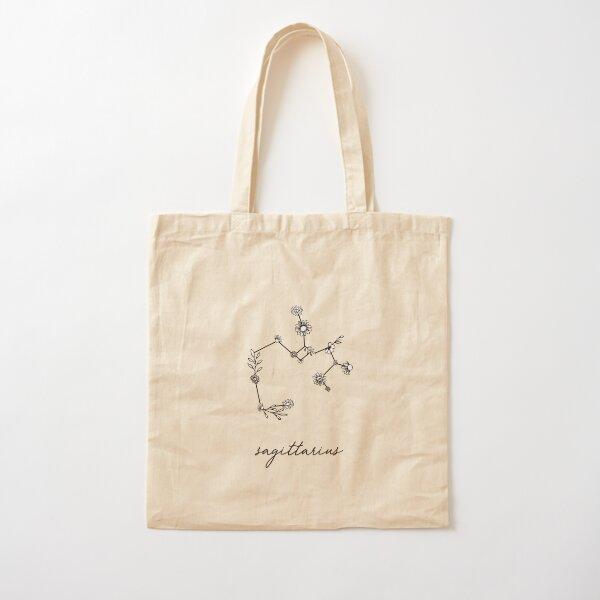 Constellation des fleurs sauvages du zodiaque Sagittaire Tote bag classique