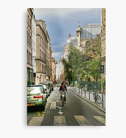 Sunday in Paris Metal Print