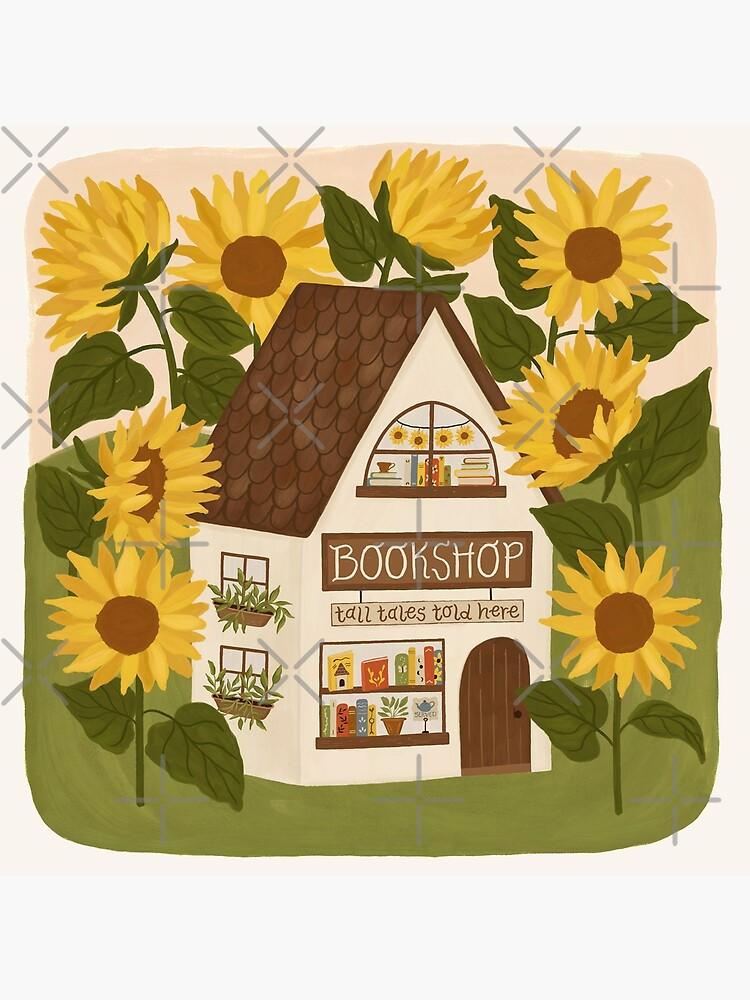 Sunflower Bookshop by ohjessmarie