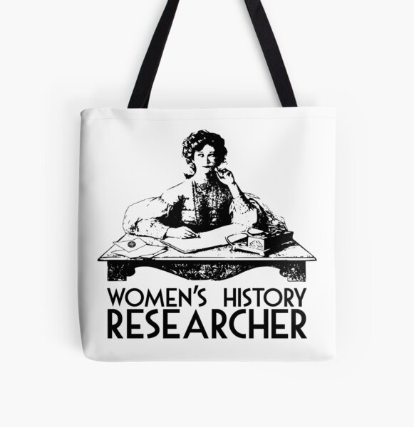 Women's History Researcher All Over Print Tote Bag