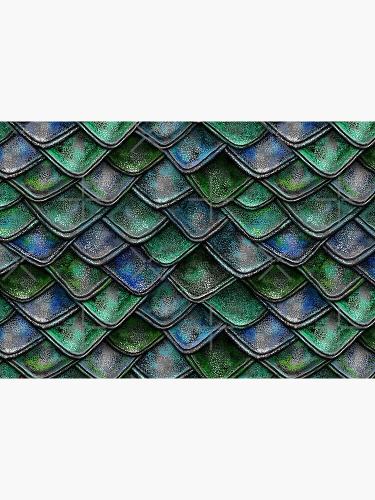 Emerald Dragon Scales by 99stars