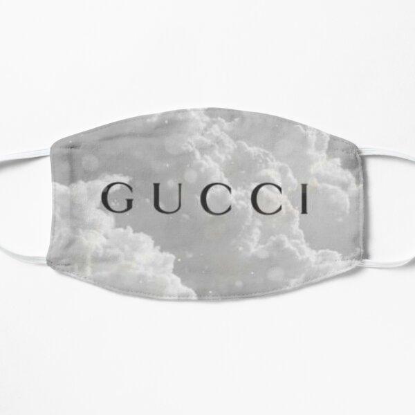 Famous Designer Face Mask, Tote, Pillow, Phone Case, & More, Reusable & Washable, Designer Inspired,Fashion, Logo, Clouds Flat Mask